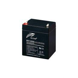 Rechargeable battery RITAR AGM RT1272 black 12V 7.2Ah