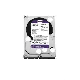 Жесткий диск Western Digital Purple 500Gb 64MB WD05PURZ 3.5 SATA III