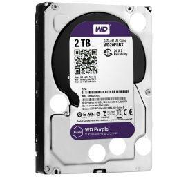 Hard Drive Western Digital Purple 2TB 64MB WD20PURX 3.5 SATA III