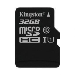 Karty pamięci Kingston MicroSDHC / MicroSDXC 32 GB klasa 10 UHS-I (SDC10G2 / 32GBSP)