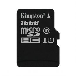 Memory Card Kingston 16GB microSDHC C10 UHS-I (SDC10G2 / 16GBSP)