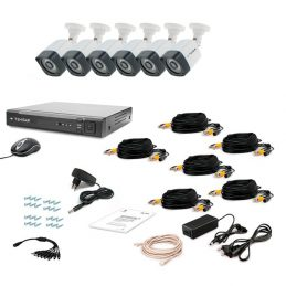 CCTV Tecsar AHD 6OUT-3M LIGHT