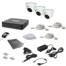 Tecsar 3OUT-DOME Video Surveillance Kit