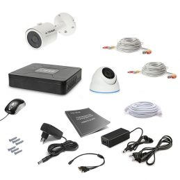 Tecsar 2OUT-MIX Video Surveillance Kit