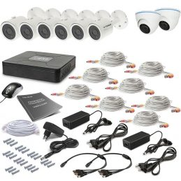 Tecsar 8OUT-MIX2 Surveillance Kit