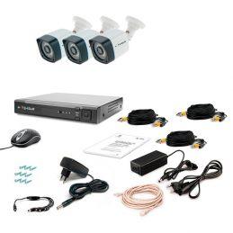 CCTV Tecsar AHD 3OUT-3M LIGHT