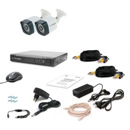 CCTV Tecsar AHD 2OUT-3M LIGHT