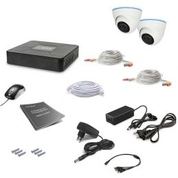 CCTV Tecsar 2OUT-DOME LUX
