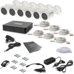 Комплект видеонаблюдения Tecsar 6OUT LUX