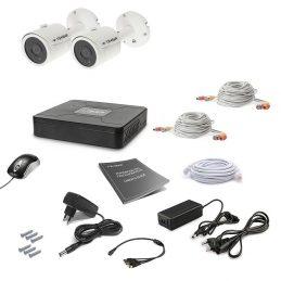 Комплект видеонаблюдения Tecsar 2OUT LUX